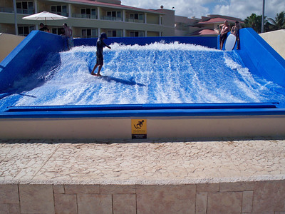 Flow Rider at Moon Palace